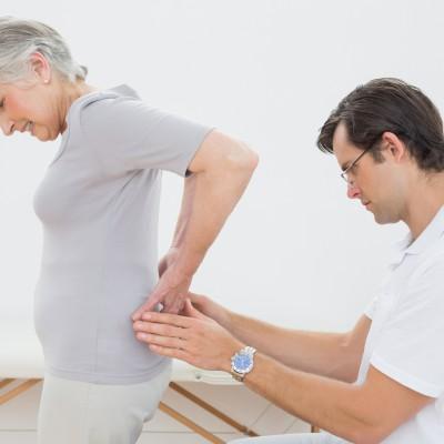 ból odcinka lędźwiowego u kobiety
